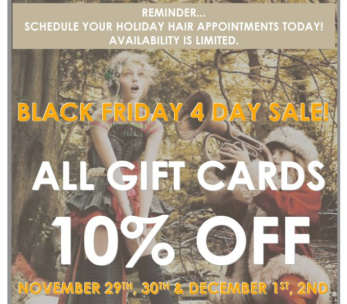 10% OFF Gift Cards