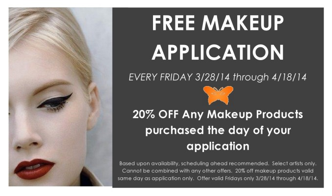 Free Makeup Application