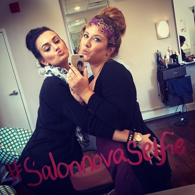 Selfie-Britt & Rachel