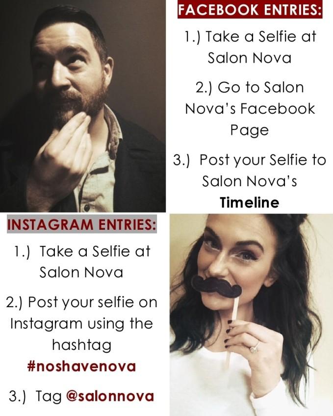 #noshavenova
