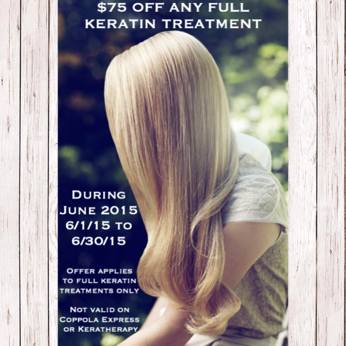 Keratin Treatment Promo