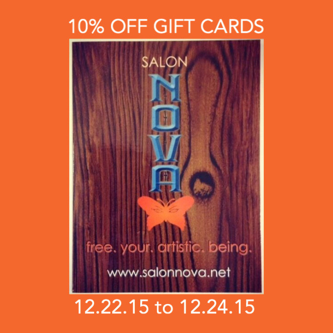 Gift Card Sale Xmas 2015