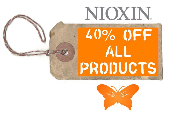 Nioxin 40% OFF