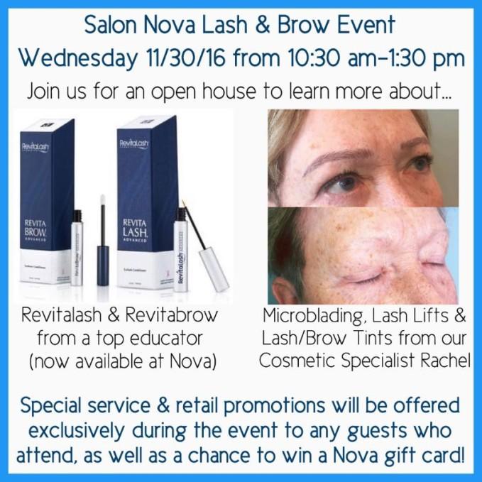 Lash & Brow Event