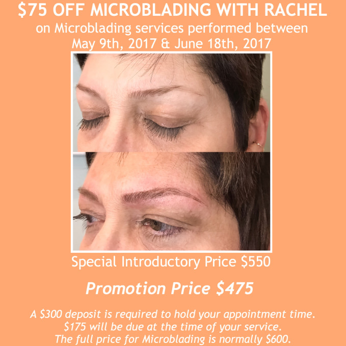 $75 off Microblading