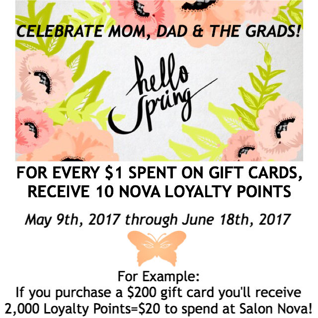 Gift Card Loyalty Points