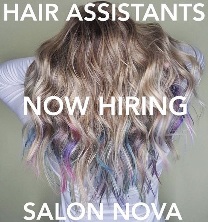 Hiring hair assistants